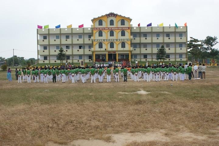 M J R Vidya English Medium High School-School Building