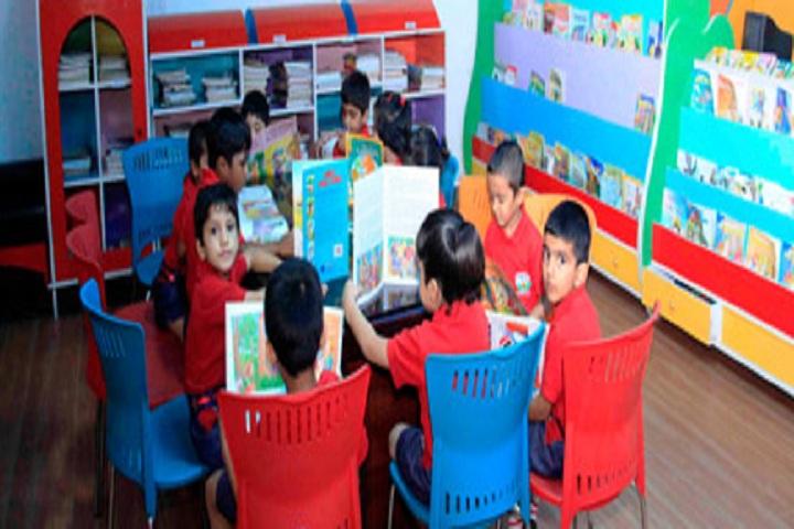Delhi Heritage School- Library