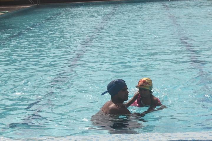Delhi International School-Swimming Activity