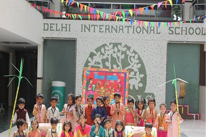 Delhi International School-Kids
