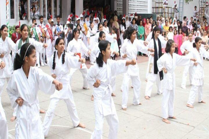 Madina Public School-Karate