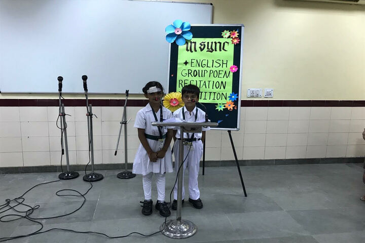 Delhi Public School-Poem Reciation
