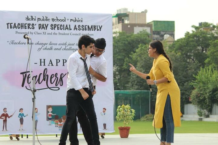 Delhi Public School-Teachers Day Celebrations