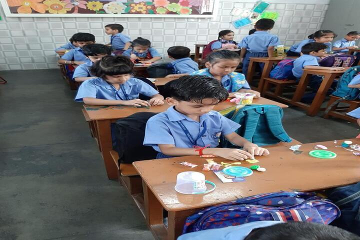 Dev Samaj Modern School-Clay Modelling