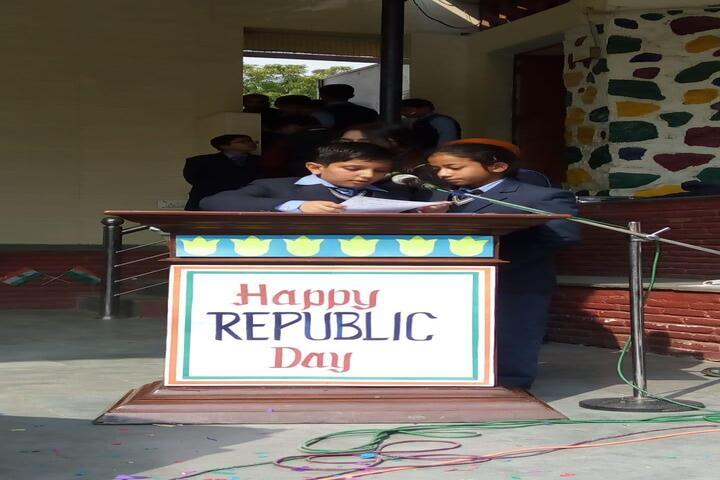 Dev Samaj Modern School-Republic Day