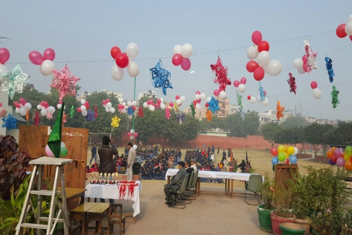 Dr. S.R.S Mission School - Sports day