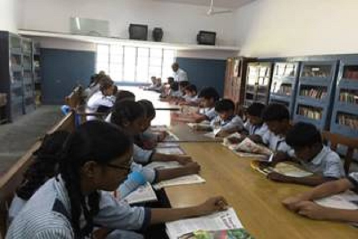 Delhi Tamil Education Association Senior Secondry School- Library