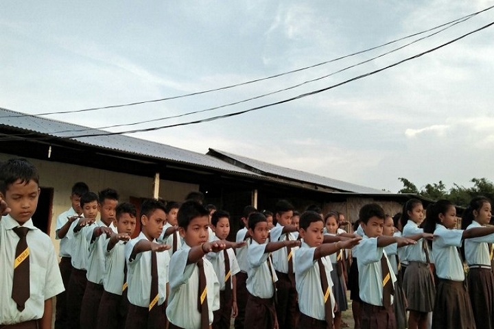 Eklavya Model Residential School- School Assembly