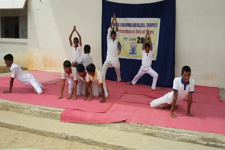 Marg Chinmaya Vidyalaya-Yoga Day