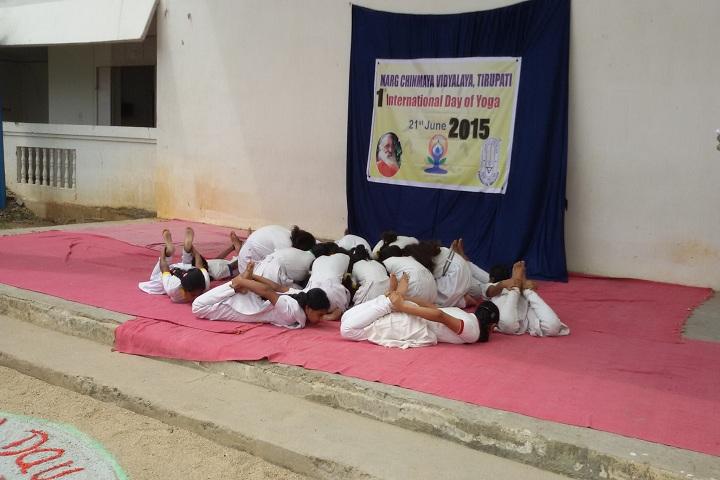 Marg Chinmaya Vidyalaya-Yoga