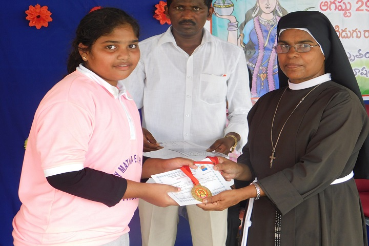 Marymatha English Medium High School-Sports Winner