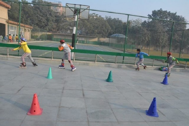 G D Goenka Public School-skating ground