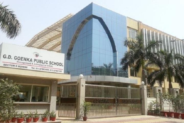 G D Goenka Public School- Building