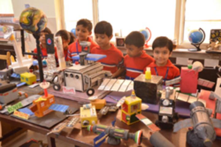 G D Goenka Public School- Space Activity