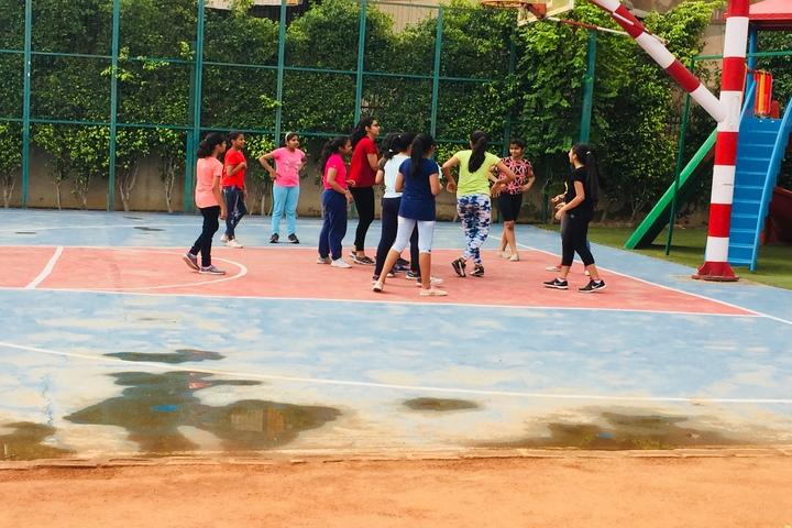 G D Goenka Public School- Basketball Court