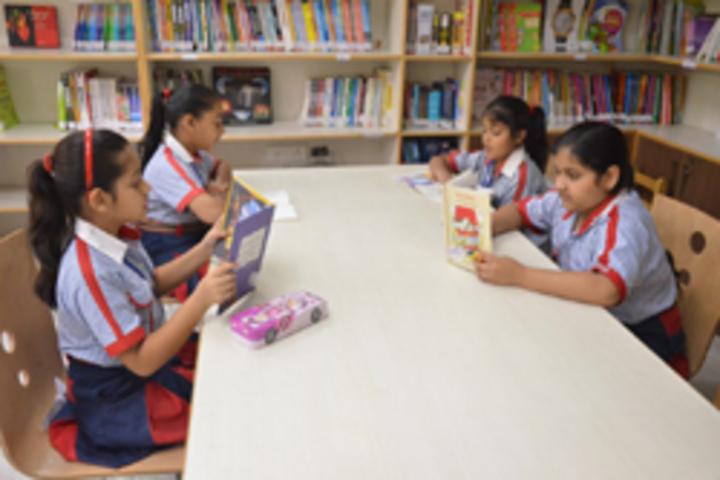 G D Goenka Public School- Library