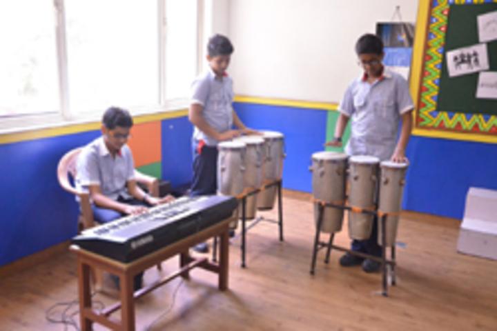 G D Goenka Public School- Instrumental Music Room