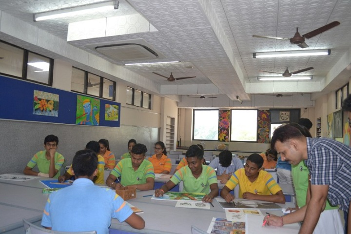 G D Goenka Public School-Class Room
