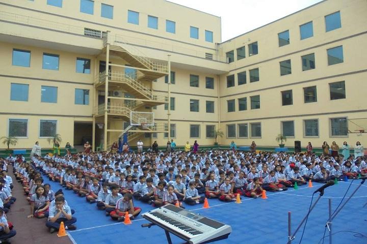 G D Goenka Public School Dwarka-Assembly Ground