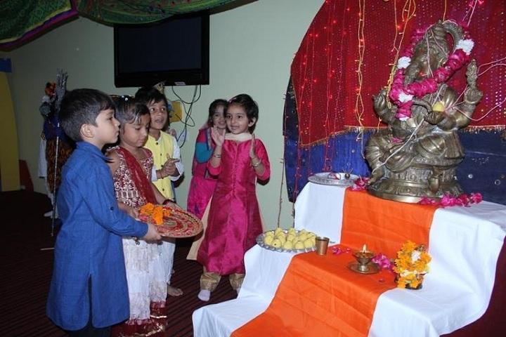 G D Goenka Public School Dwarka-Festival