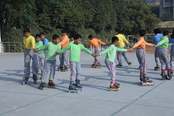 G D Goenka Public School Dwarka-Skating Area