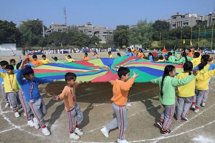 G D Goenka Public School Dwarka-Sports Day