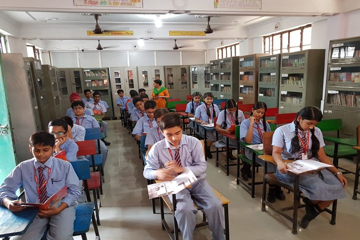 Gagan Bharti Public School-Library