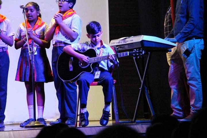 G D Goenka Public School-Group Singing