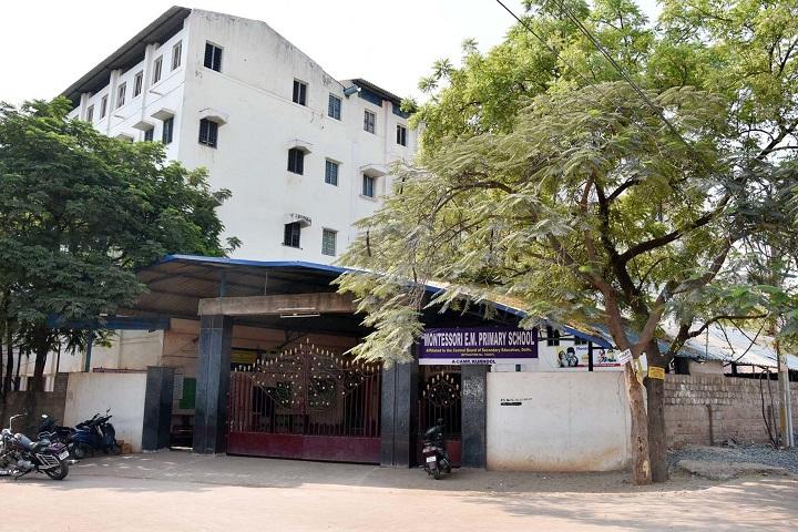 Montessori English Medium Primary School-School Building