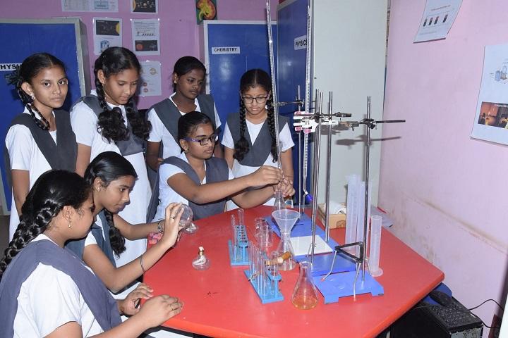 Montessori English Medium Primary School-Chemistry Lab