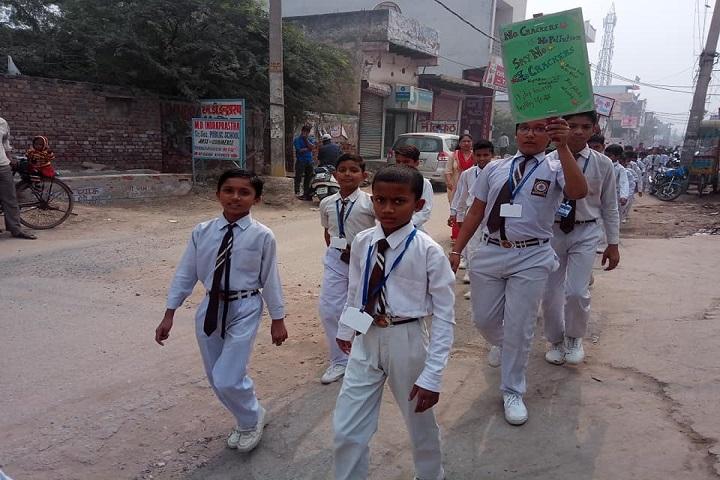 Good Luck Public School-Rally Campaign