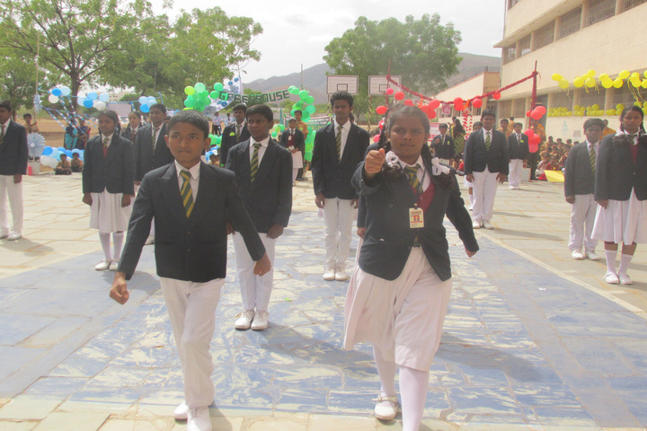 Montfort School-March Past