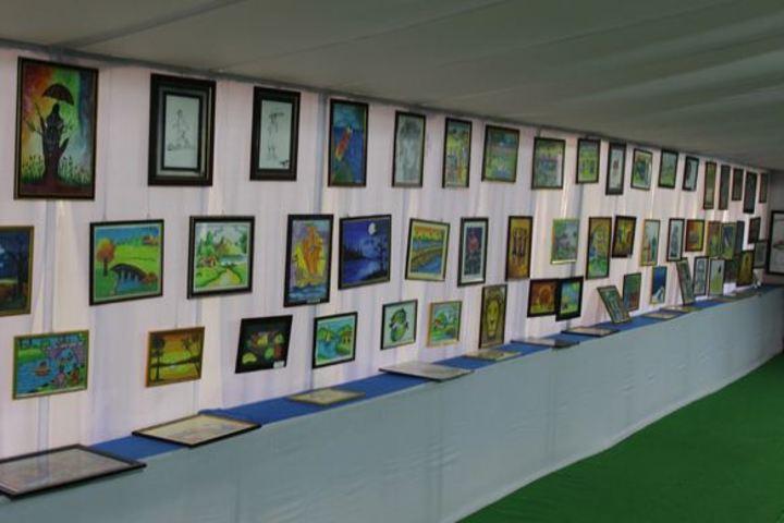 N St Mathews Public School-Art Exhibition