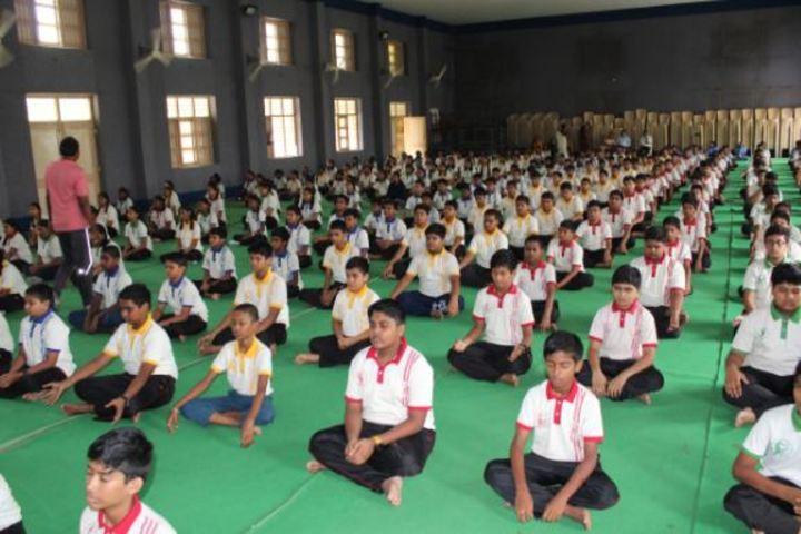 N St Mathews Public School-Yoga