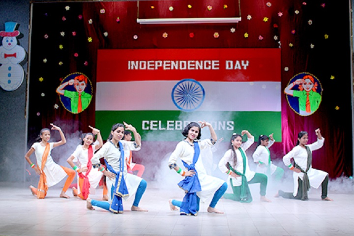 N St Mathews Public School-Independence day Celebrations