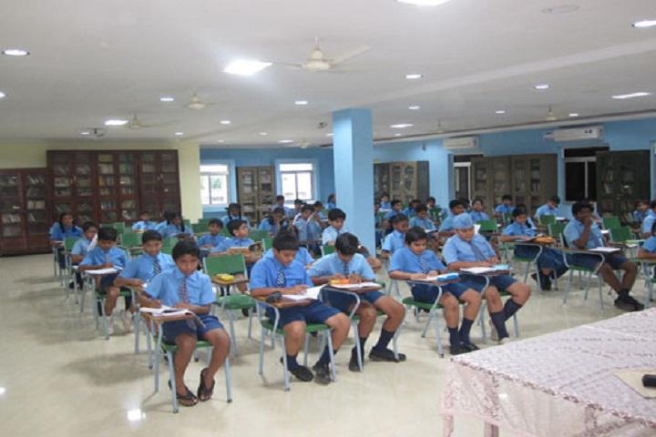 N St Mathews Public School-Library