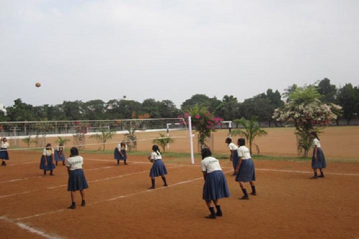 N St Mathews Public School-Throw Ball