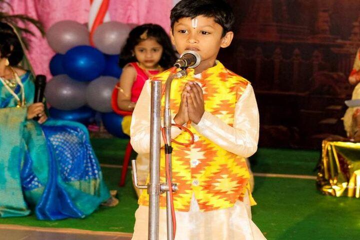 Nalanda Vidyaniketan-Singing