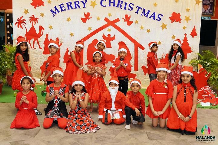 Nalanda Vidyaniketan-Christmas Celebrations