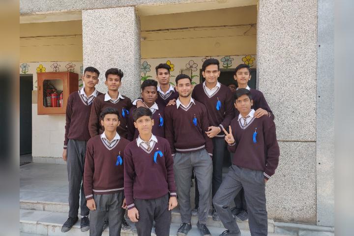 Government Boys Senior Secondary School- Students