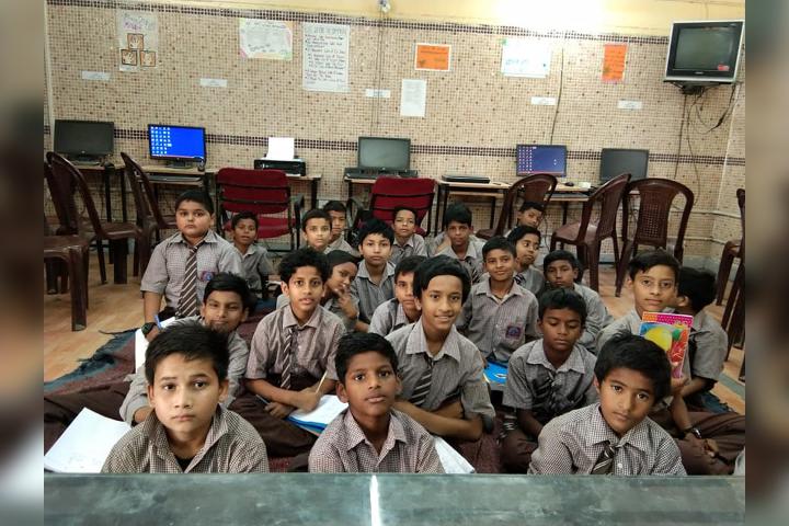 Government Boys Senior Secondary School- Junior Students