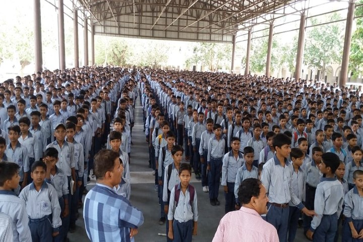 Government Boys Senior Secondary School-Assembly