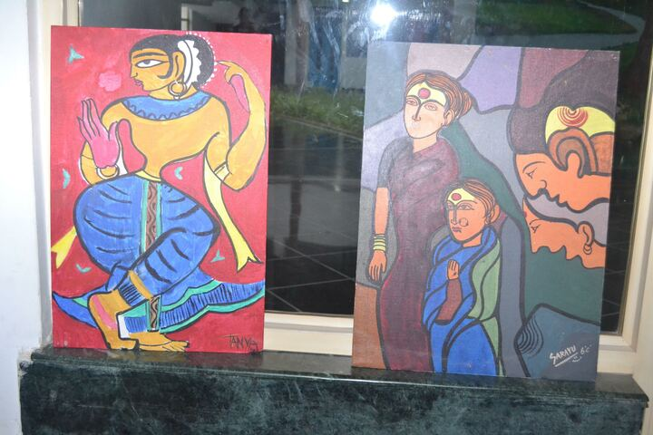Oakridge International School-Art Exhibition