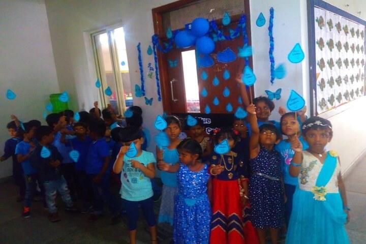 P E S Public School-Blue Day
