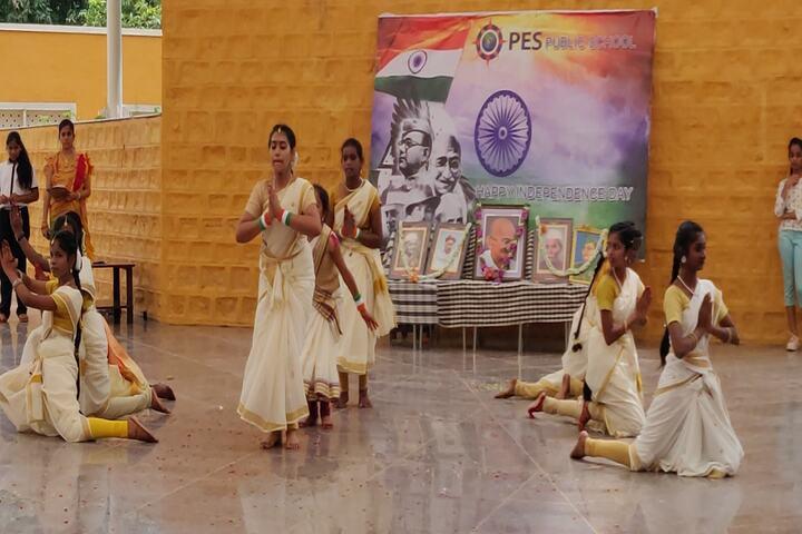 P E S Public School-Dance