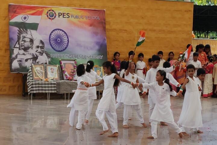 P E S Public School-Independance Day