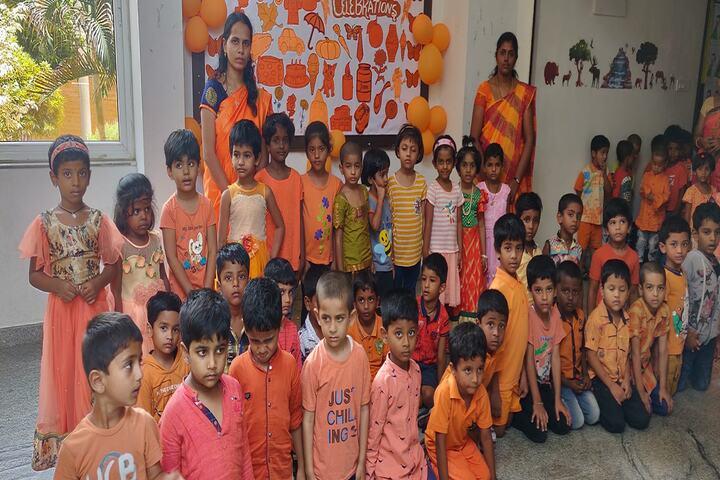 P E S Public School-Orange Day