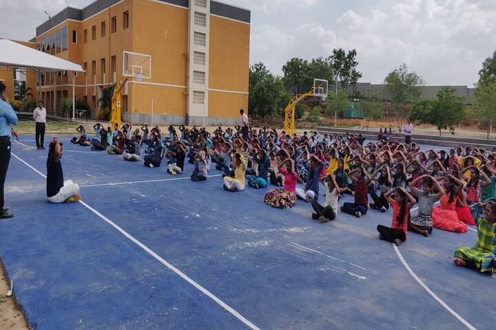 P E S Public School-Yoga