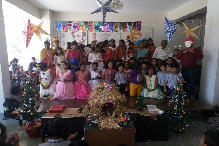P E S Public School-Christmas celebrations