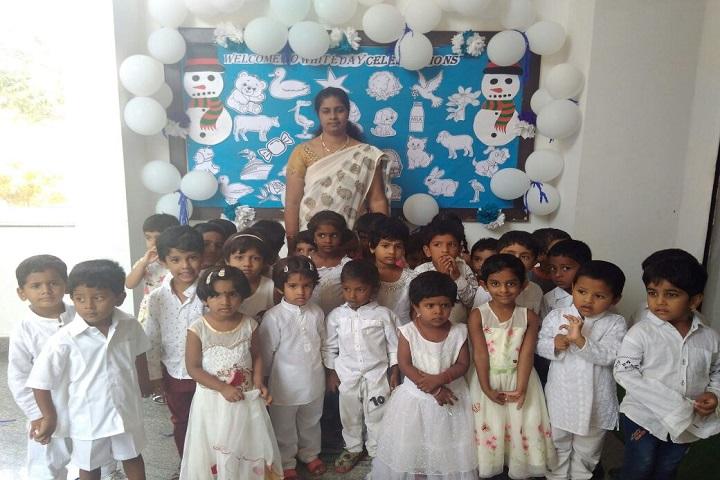 P E S Public School-White day Celebrations